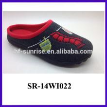 2014 simple style winter women slipper for wholesale