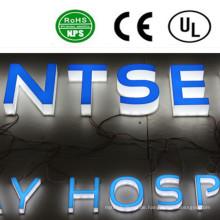 Beleuchtetes Kanal-Buchstabe-Zeichen der hohen Qualität Acryl-LED