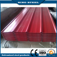 0.3mm Thickness Colorful Galvanized Metal Roofing Sheet /PPGI Corrugated Steel Sheet