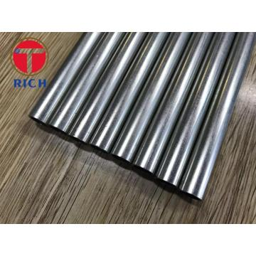 Seamless Galvanized Steel Tubes