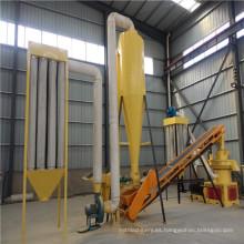 Línea de productos de pellets de madera (1 ~ 1.5 toneladas de capacidad) en venta