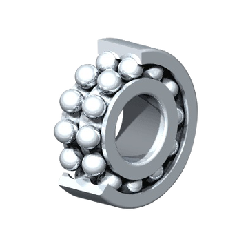 Double Row Deep Groove Ball Bearings 63800 Series
