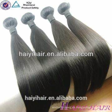 La noche a la mañana la nave cutícula alineó vendedores del pelo al por mayor pelo recto Remy brasileño paquete del pelo humano