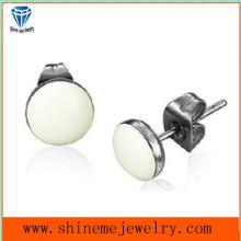 Earrings Jewelry Ear Stud Eardrop White Glue Earring