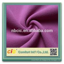 Tela de lana acrílica de tela de paño grueso y suave Polar Micro por mayor