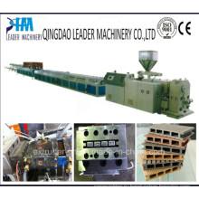 ПП ПЭ ПВХ деревянная пластичная производственная линия профиля WPC машина