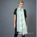 35%Cotton 65%Polyester Yarn Dye Scarf for Ladies′ Fashion