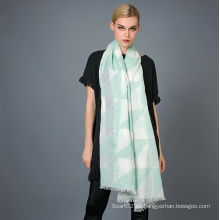 35% algodón 65% poliéster hilo tinte bufanda para la moda de las damas