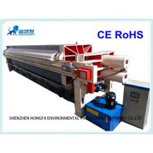 Filtre-presse à vis pour usine de traitement de l'eau