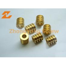 Twin Co-Rotating Screw Elements Tin Screw Barrel