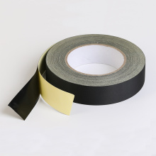 Fita adesiva de pano de acetato de isolamento preto