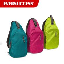 Sling mochila para mulheres Crossbody saco de alça de ombro único