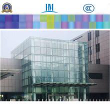 Panneaux de verre clair / teinté, verre de fenêtre en verre feuilleté