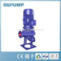 Vertikale Tauchpumpe des Abwassers Wasser