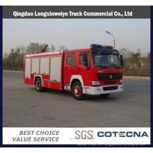 Тележки HOWO 4х2 8000L автоцистерны пожарной машины