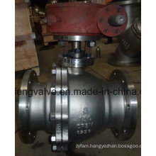 Flange End Stainless Steel Trunnion Mounted Ball Valve