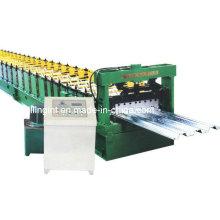 Plancher automatique de plancher de feuille de métal faisant la machine