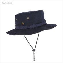 изготовленный на заказ гибкий рыбалка шляпа шапка мужчин военных буни шляпы ведра с строку