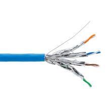 CAT6A SFTP 600MHz 10g cabo Ethernet com tambor de madeira 1000FT