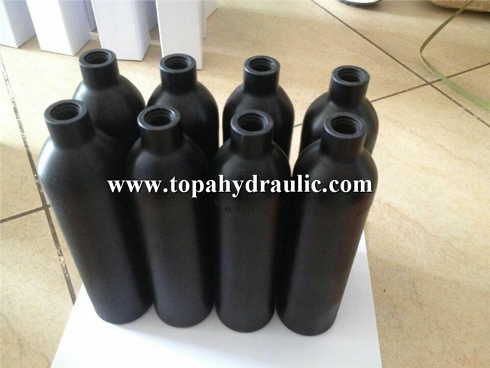 Paintball aluminum gas bottle sizes