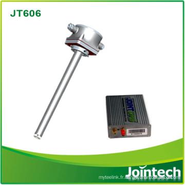 Sonde capacitive de niveau de carburant de signal analogique de Digital de RS232 / RS485 pour des réservoirs de pétrole Solution de sécurité de vol de carburant