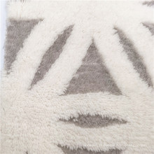 Tissu 100% Terylene Shu Velveteen imprimé par coutume