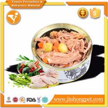 Comida de cachorro barata e de alta qualidade comida de cachorro popular amante de animais enlatados Fornecedor