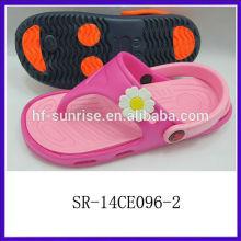 SR-14CE096-2 2014 new eva children slipper confortable children flip flops fashion children slipper