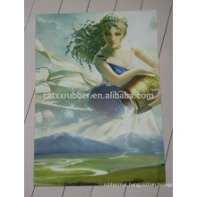 sexy girl printing table mat, folding table mat