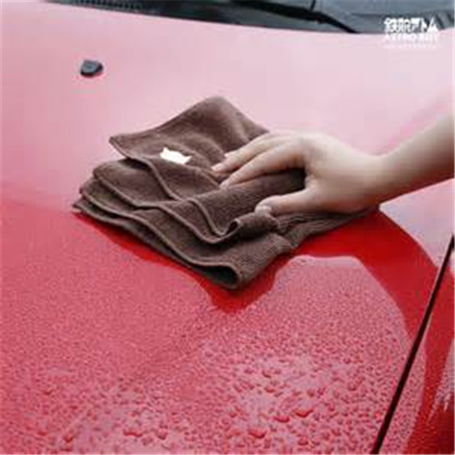 40x40cm blue car towel