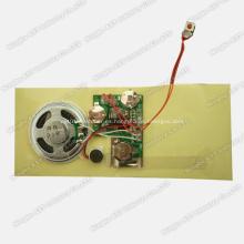 Módulo de sonido para tarjetas de felicitación, chip de sonido, módulo de voz