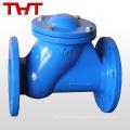 Válvula de retenção galvanizada de esfera de ferro válvula de válvula de Itália / não retorno