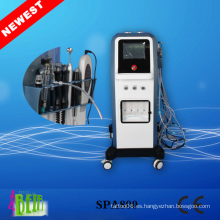 Rejuvenecimiento de la piel hidrofacial Sistema de dermoabrasión / Agua Jet de oxígeno Peeling Belleza de la máquina
