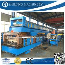 Machine de formage de rouleau de plancher d'acier galvanisé approuvé par CE