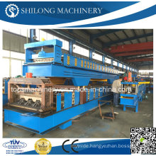 CE Approved Galvanized Steel Sheet Floor Deck Roll Forming Machine