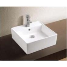 Bacia de lavagem cerâmica dos mercadorias com acessórios do banheiro (W7140)