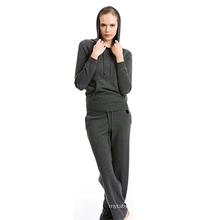 PK18A46HX 100% Cashmere Sweater And Pants Set Sports Set