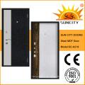 Heiße neue MDF innerhalb der hölzernen Material-Stahltür (SC-A218)