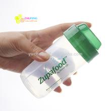 200ml BPA LIVRE garrafa de abanador de proteína Blender pequena garrafa de água potável