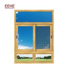 Schiebefenster aus Aluminiumlegierung mit Moskitonetz