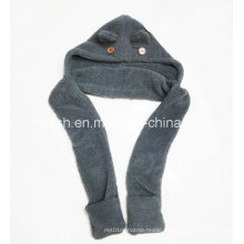Sherpa Scarves Hats Gloves Integrated