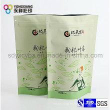 Embalaje de plástico Bolsa de té con Ziplock