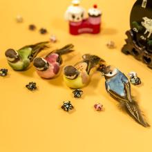Décoration de table cage à oiseaux