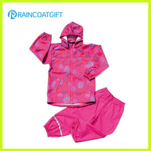 Rum-025 Wasserdichte 3000 Kinder PU Rainsuit