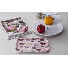 "Melamin ""France Bear"" Houseware Tablett / 100% Melamin Geschirr (FB9002)"