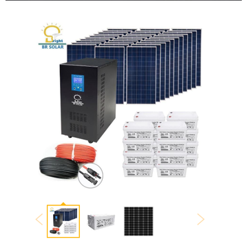 Sistem Solar Home 10KW Off Grid
