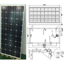 Модуль 18В 140 Вт 145 Вт Монокристаллический панели солнечных батарей PV с одобренный CE