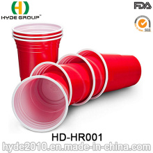 Promotional Disposable Double Color Party Red Solo Cup