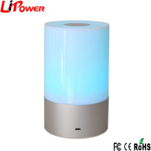Best selling in Amazon LED Bedside Lamp White Color Touch Sensitive Dimmable RGB LED Table Lamp