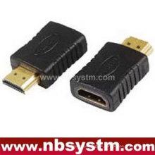 Ein Typ männlich zu weiblichen HDMI Adapter